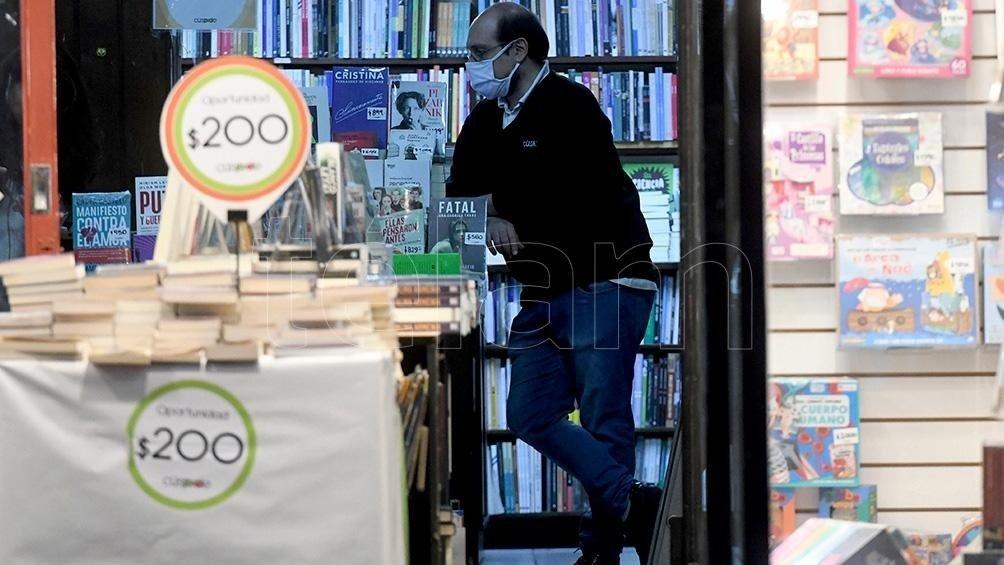 Las librerías intentaron resistir a pesar del aislamiento y las restricciones de circulación.